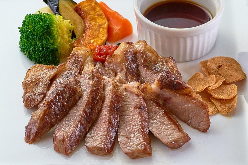 猪豚のステーキ