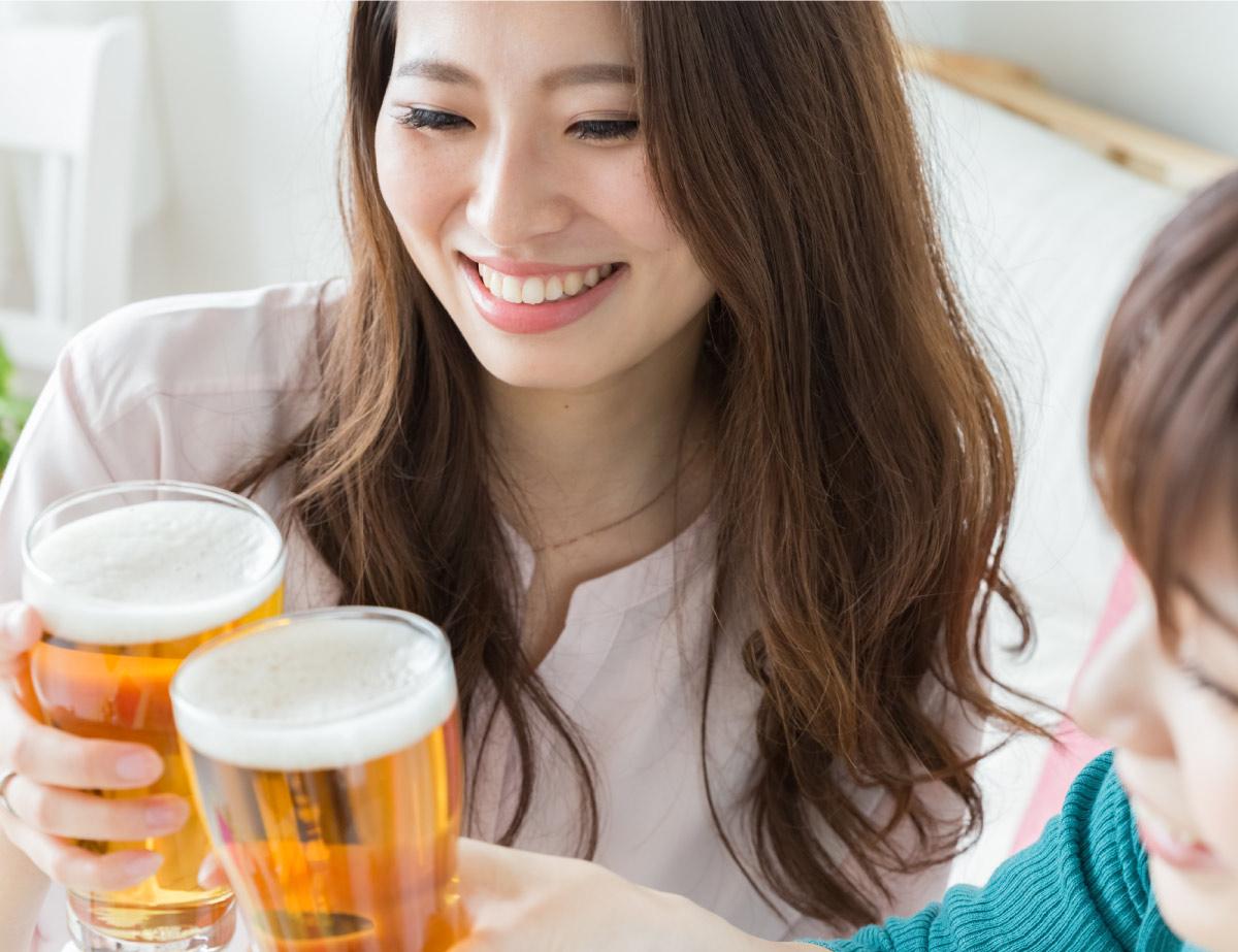 ナギサビールで乾杯