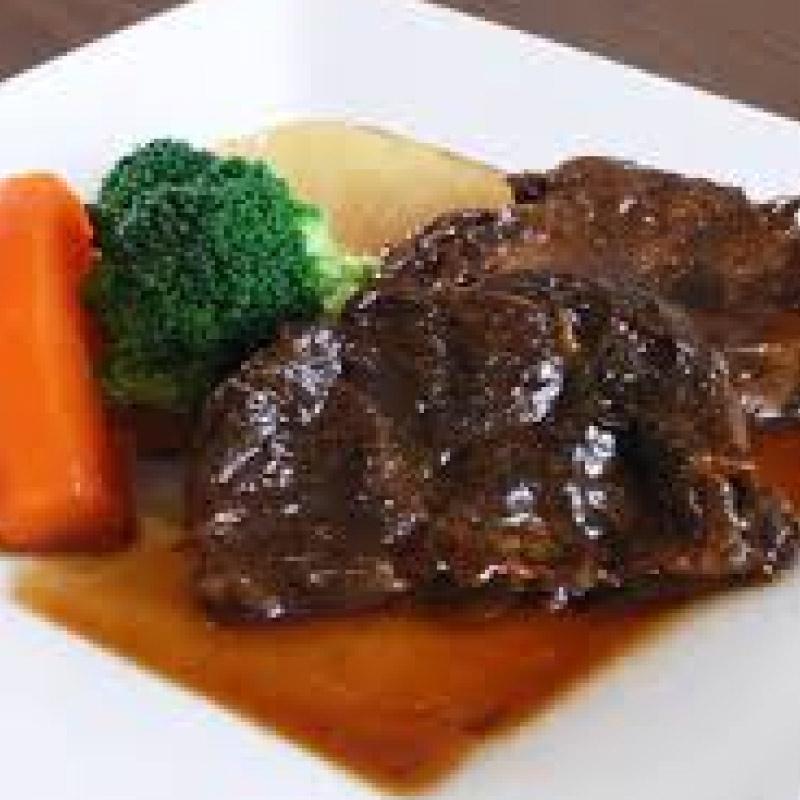 牛肉のペールエール煮込み